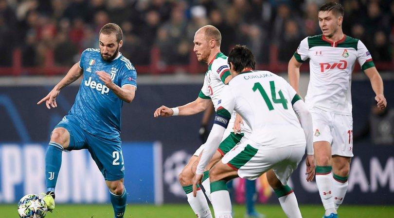 Lokomotiv Mosca-Juve, le pagelle: Douglas Costa da 10, Higuain tacco magico