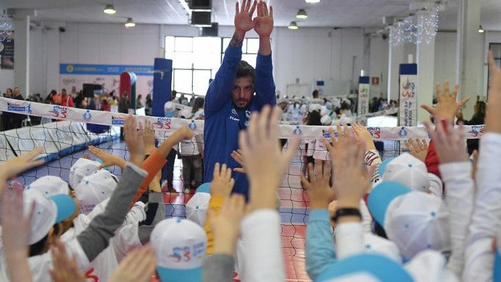 2100 bambini a Tito per Gioca Volley S3 in Sicurezza
