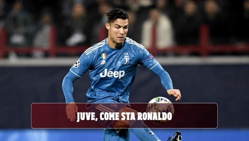 Juventus, ecco come sta Ronaldo