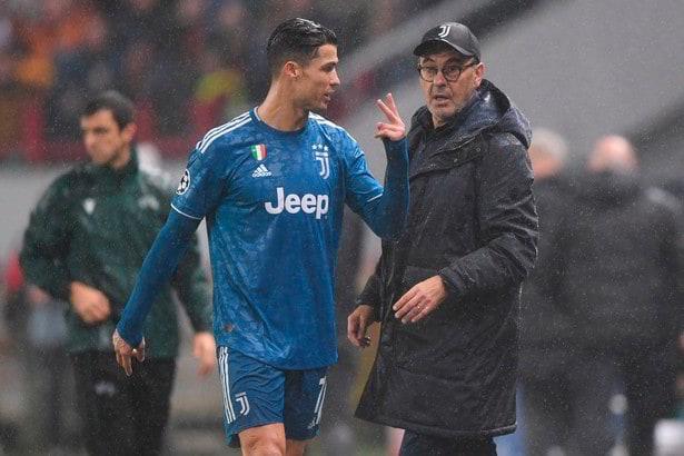 Cristiano Ronaldo, che serata storta