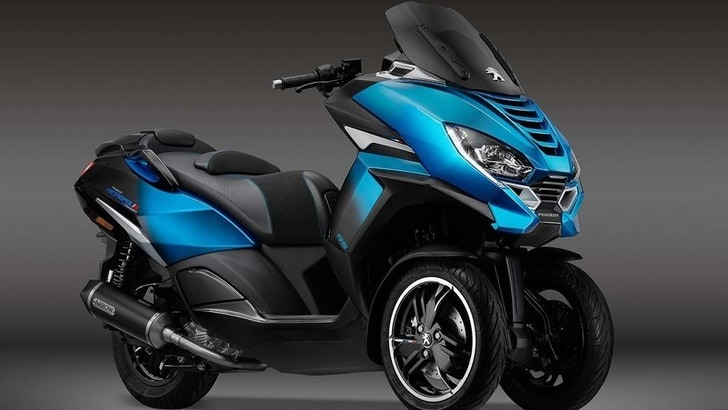 Peugeot Metropolis RS Concept, nuovo scooter a EICMA