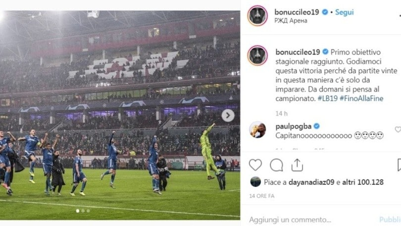 """Pogba commenta un post di Bonucci e i tifosi gli scrivono: """"Torna alla Juve"""""""