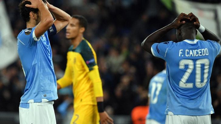 Lazio-Celtic 1-2, il tabellino