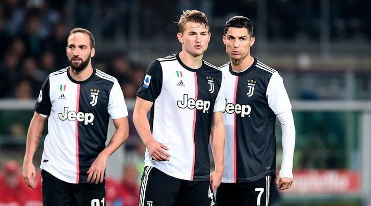 Juve-Milan, la formazione di Sarri:De Ligt, Higuain e Dybala, ecco i dubbi