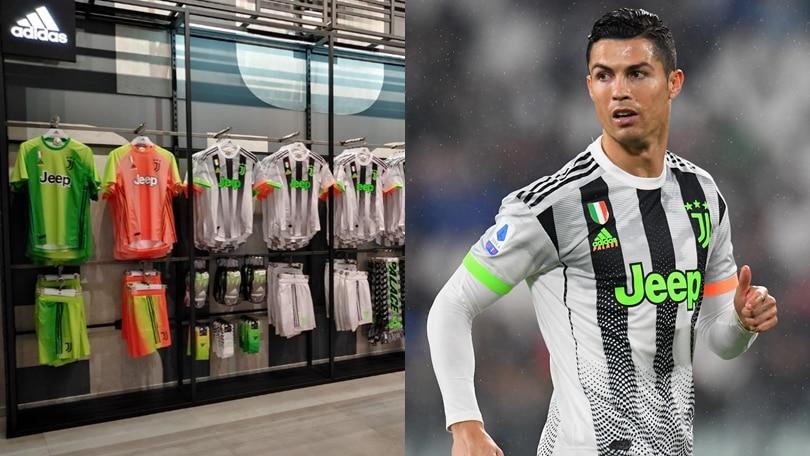 Juve, in vendita la maglia speciale con il verde fluo