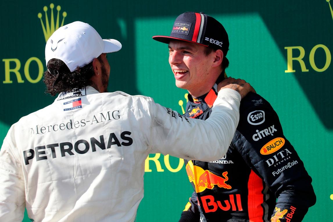 Pace tra Hamilton e Verstappen: