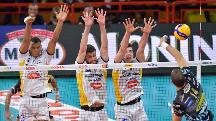 Superlega, Trento-Verona è l'anticipo della 4a giornata