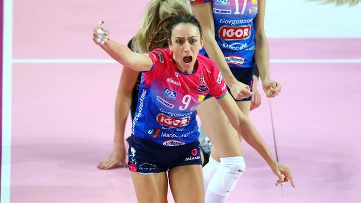 A1 Femminile, Novara-Conegliano lotta fra giganti
