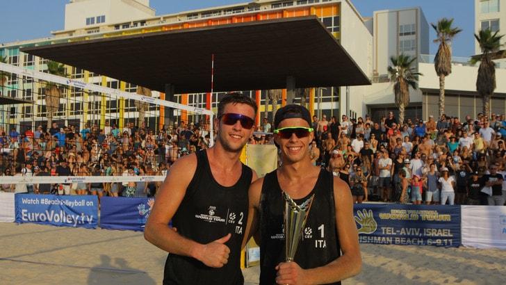 A Tel Aviv gradino più alto per Windish-Cottafava
