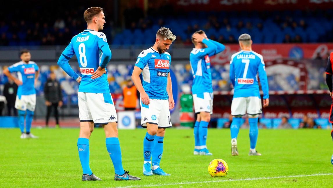 Il Napoli non vince più. E il San Paolo fischia…