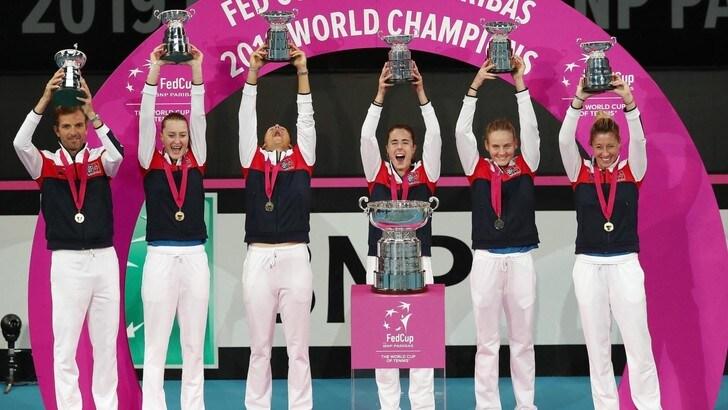La Francia vince la Fed Cup. Con l'Australia decisive Mladenovic e Garcia