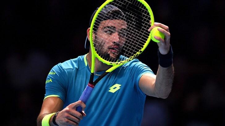 Atp Finals: troppo Djokovic per Berrettini