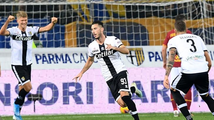 Parma-Roma 2-0: Kolarov sbatte sul palo, Sprocati-Cornelius non perdonano