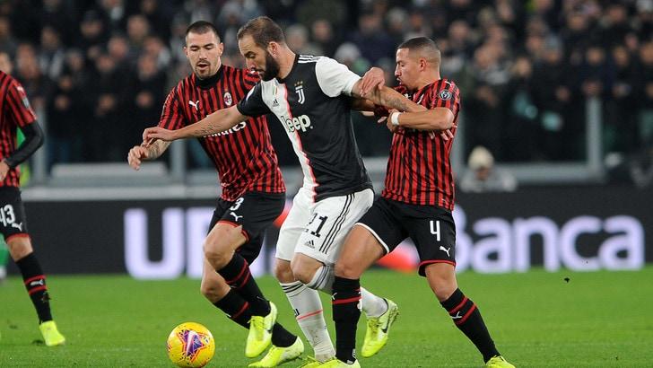 Juventus-Milan 1-0, il tabellino
