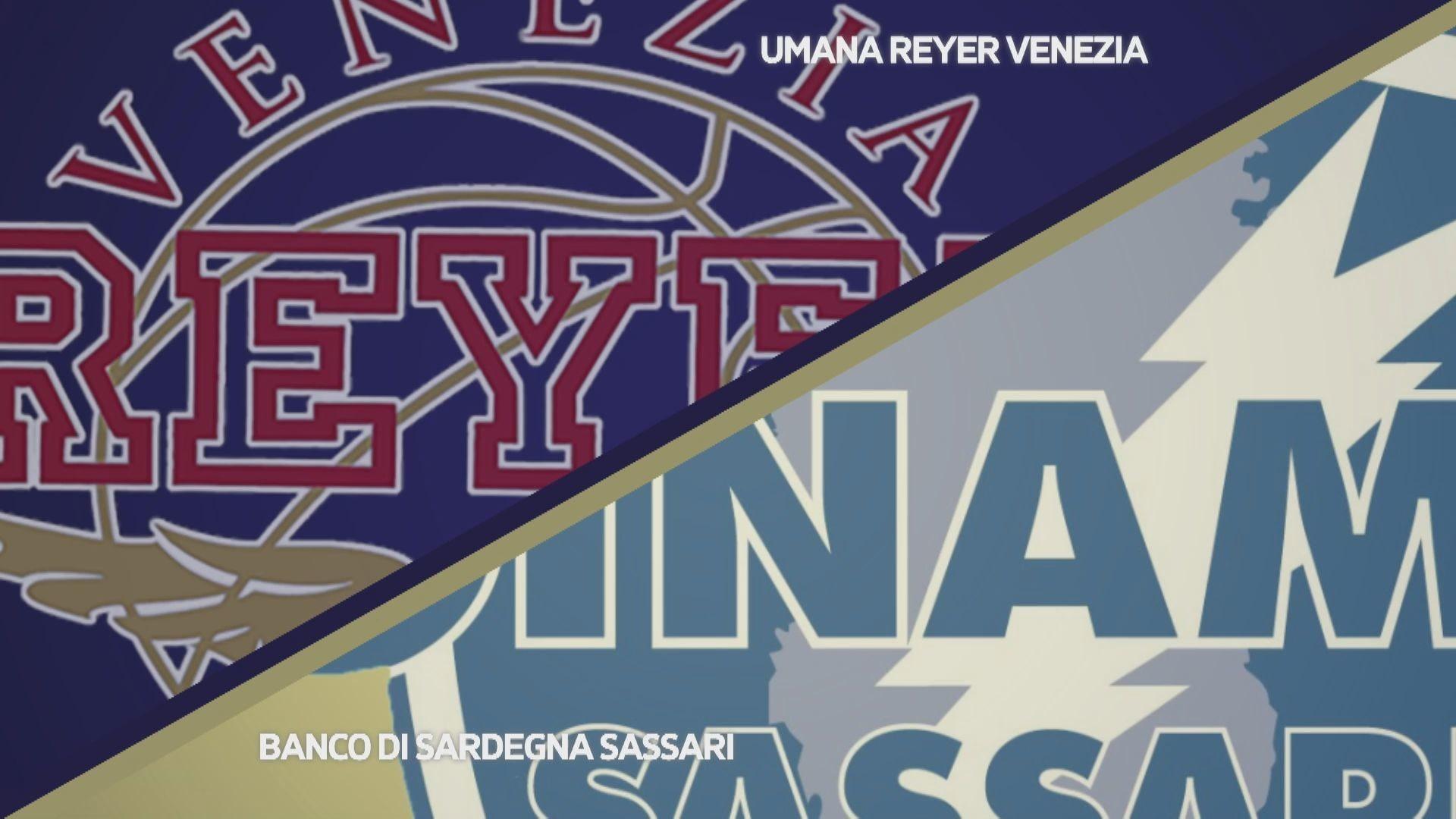 Umana Reyer Venezia - Banco di Sardegna Sassari 55-54