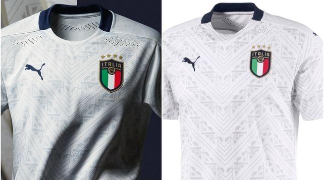 Italia, ecco la nuova maglia da trasferta: dal verde si torna al bianco