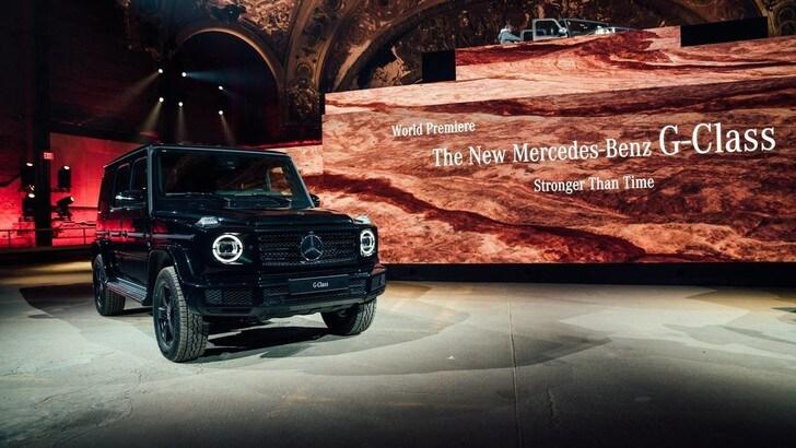 Mercedes Classe G, il futuro è elettrico