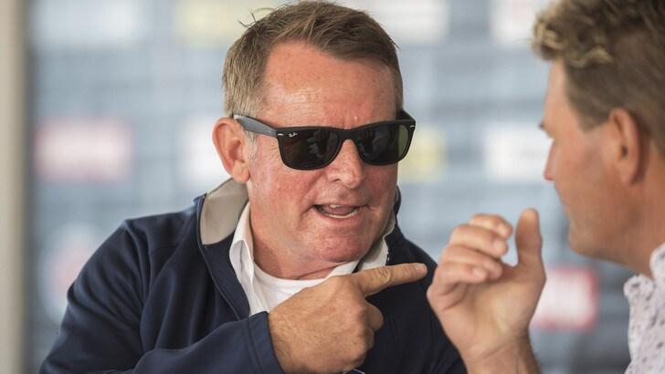 Moto, Wayne Rainey corre in pista dopo 26 anni