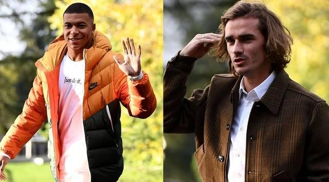 Euro 2020, la Francia a Clairefontaine: Mbappe e Griezmann in forma. Non c'è Matuidi
