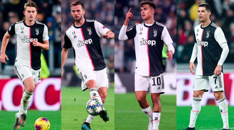 Juve, i 14 giocatori convocati in nazionale