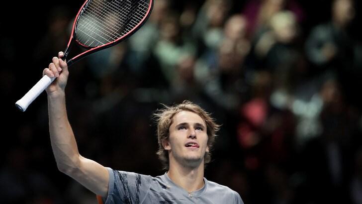 Atp Finals: Zverev schiacciasassi contro Nadal