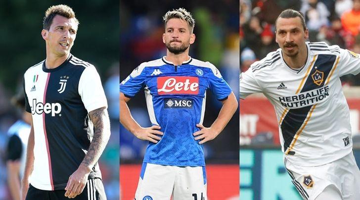 Il Milan sceglie: Mandzukic, Mertens o Ibrahimovic