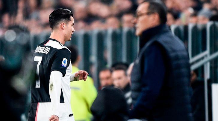 Ronaldo non insulta Sarri: la giusta interpretazione del labiale