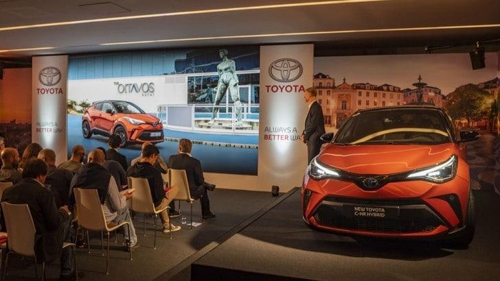 Prova Nuova Toyota CH-R: FOTO