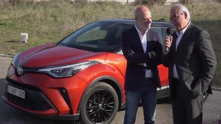 Test Toyota CH-R: intervista a Mariano Autuori