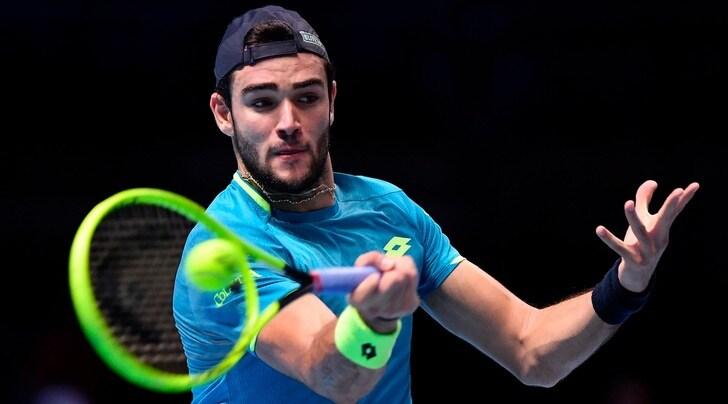 Atp Finals, Berrettini battuto da Federer in due set