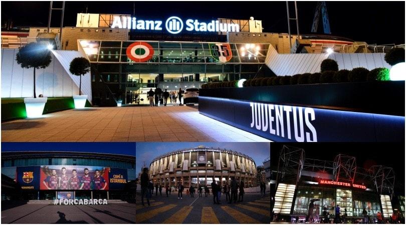 Juve, lo Stadium ti fa ricca: in Europa dominano Real e Barça