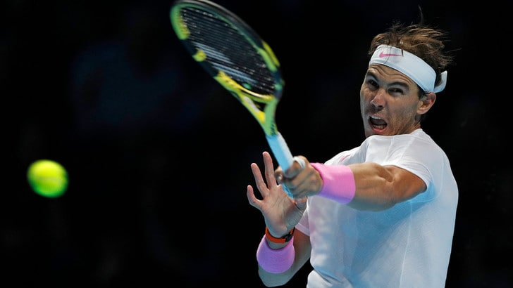 Atp Finals, fantastica rimonta di Nadal che batte Medvedev