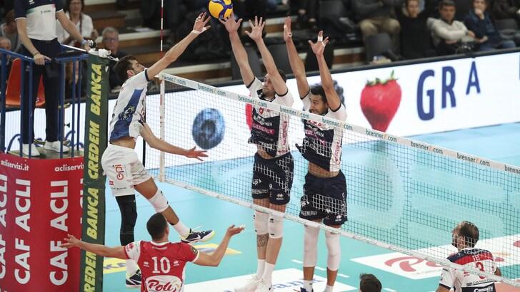 Superlega, Civitanova, Modena e Trento continuano a correre
