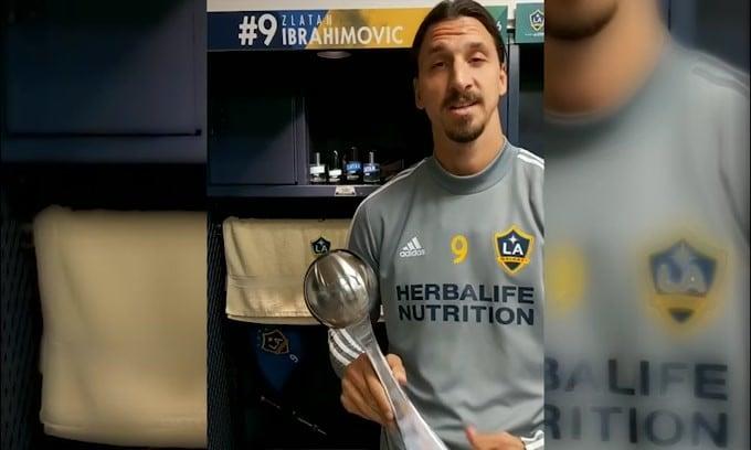 Ibrahimovic dice addio alla MLS e saluta i tifosi