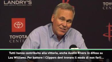 D'Antoni e Harden piegano i Clippers