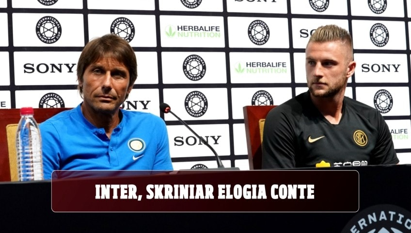 Inter, Skriniar elogia Conte