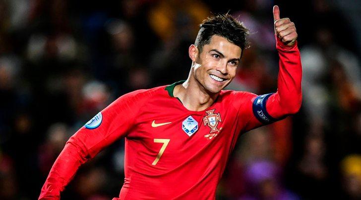 Cristiano Ronaldo, ora carica da CR100