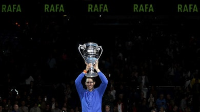 Atp Finals, Nadal piega Tsitsipas e spera ancora nelle semifinali