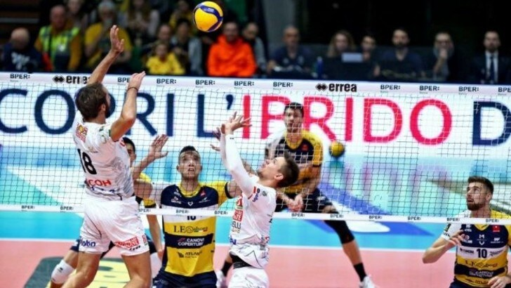 Superlega, Civitanova-Modena è lo scontro fra giganti