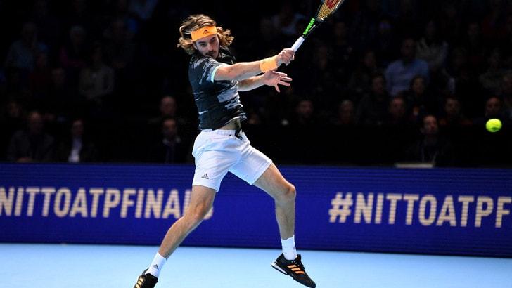 Atp Finals, Tsitsipas in finale: Federer battuto