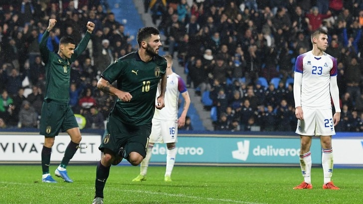 Cutrone lancia l'Italia U21: doppietta nel 3-0 all'Islanda
