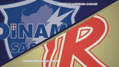 Banco di Sardegna Sassari - Grissin Bon Reggio Emilia 100-81