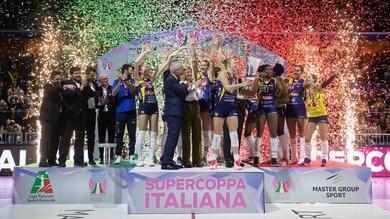 Conegliano schianta Novara, la Supercoppa è sua !
