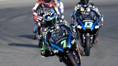 Moto3: Foggia brutto incidente a Valencia, ma è cosciente