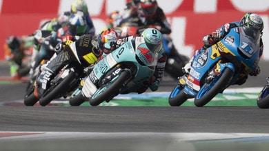 Moto3, Valencia: Garcia vince davanti a Migno