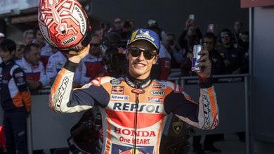 Marquez vince a Valencia: