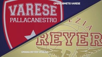 Openjobmetis Varese - Umana Reyer Venezia 93-91