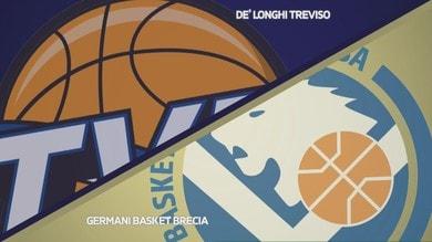 De'Longhi Treviso - Germani Basket Brescia 72-68