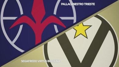 Pallacanestro Trieste - Segafredo Virtus Bologna 85-89
