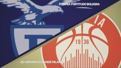 Pompea Fortitudo Bologna - A|X Armani Exchange Milano 85-80